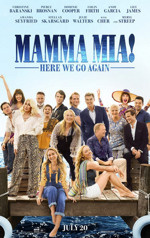 MAMMA MIA! HERE WE GO AGAIN Comes to Netflix in the UK and Ireland This Month