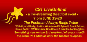 CST LiveOnline! Presents THE POSTMAN ALWAYS RINGS TWICE
