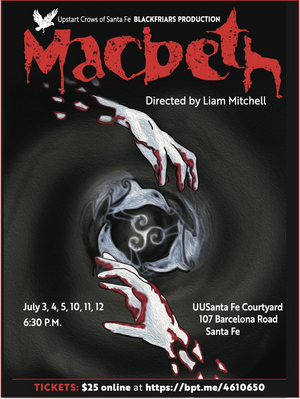 Upstart Crows Present MACBETH, Live and Outside