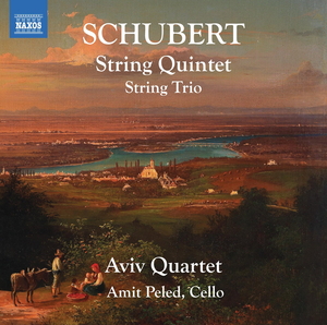 Naxos Releases New Schubert Recording Featuring Cellist Amit Peled And The Aviv Quartet