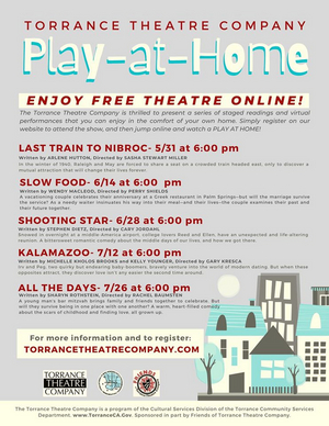 BWW Review: Torrance Theatre Company Presents Entertaining Comedy SLOW FOOD in Play-At-Home Online Series