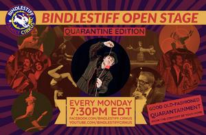 Bindlestiff Open Stage Variety Show: Quarantine Edition Returns June 29