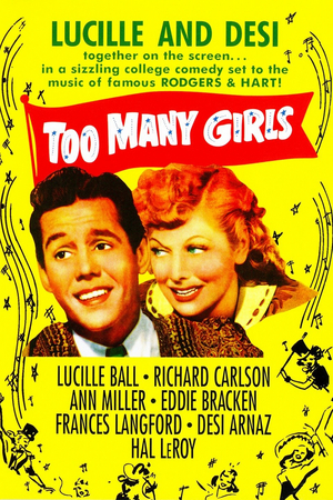 Streaming Review: TOO MANY GIRLS – The 1940 Film is a Fun Frolic