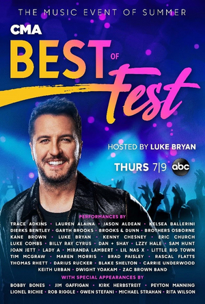 ABC to Air CMA BEST OF FEST This July