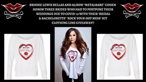 Brooke Lewis Bellas and Metal Babe Mayhem Honors Three Brides Who Had To Postpone Their Weddings Due To Covid-19