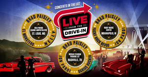 Brad Paisley To Headline Live Nation's First Ever 'Live From The Drive-In' Concert Series