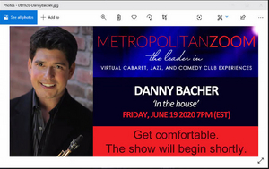BWW Review: Danny Bacher IN THE HOUSE On MetropolitanZoom Is In The Pocket