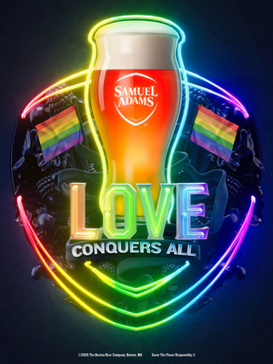 """SAMUEL ADAMS and GLAAD Share Unifying Message - """"Love Conquers All"""""""