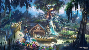 Splash Mountain Ride at Walt Disney World & Disneyland to be Reimagined with PRINCESS AND THE FROG