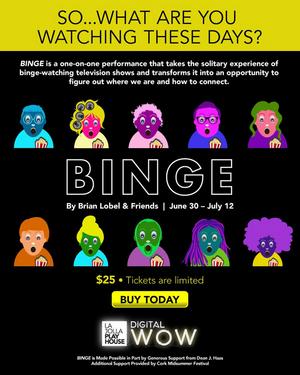La Jolla Playhouse Presents BINGE