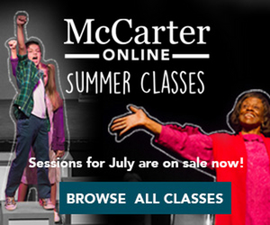 McCarter Theatre Offers Creative Theater Online Classes For All Ages