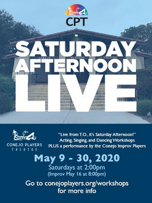 Conejo Players Theatre Launches SATURDAY AFTERNOON LIVE!
