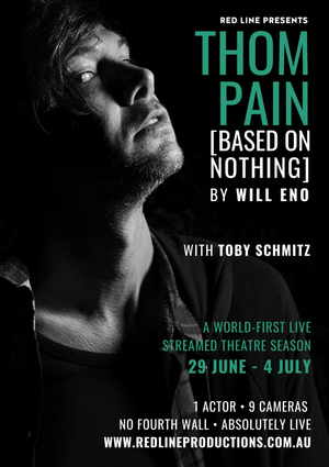 Red Line Productions is Streaming THOM PAIN (BASED ON NOTHING) Through July 4
