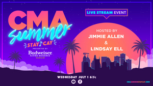 Kane Brown Added to CMA SUMMER STAY-CAY