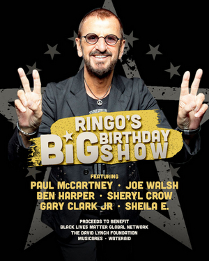 Ringo Starr To Celebrate 80th Birthday with Charity Broadcast