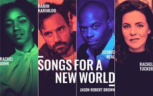Ramin Karimloo, Rachel Tucker, Rachel John, and Cedric Neal Lead Virtual Production of SONGS FOR A NEW WORLD Beginning Tonight