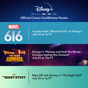 Disney+ Joins Comic-Con@Home To Present Upcoming Originals