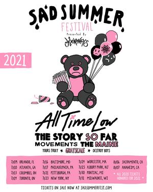 Sad Summer Fest Rescheduled To 2021