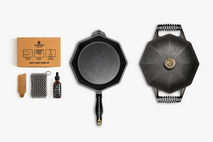 FINEX For Fine, Beautiful Cast Iron Cookware to Make Your Dishes Extraordinary