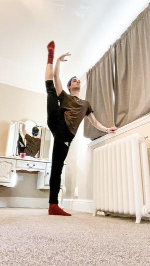 BWW Interview: Sander Blommaert On His 100th Instagram Ballet Class