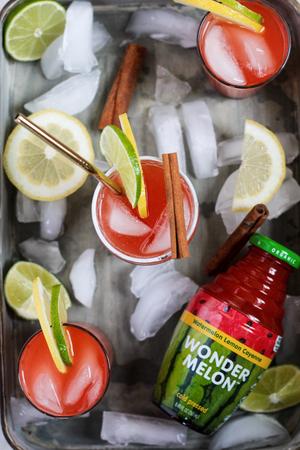 WONDER MELON and BEETOLOGY-Natural Beverages for Healthy Hydration, Mocktails and Cocktails