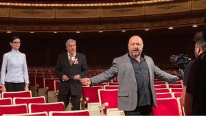 El Teatro de la Zarzuela presenta ZARZUELA EN ABIERTO O CANTAR EN TIEMPOS REVUELTOS