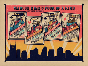 Marcus King Announces 'FOUR OF A KIND - LIVE FROM NASHVILLE'