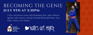 James Monroe Iglehart to Host BECOMING THE GENIE Virtual Benefit
