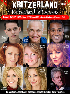 Norm Lewis, Emily Skinner and More to Take Part in Kritzerland Free Online Concert