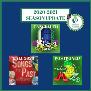 Roanoke Children's Theatre/Virginia Children's Theatre Releases 2020-2021 Season Updates