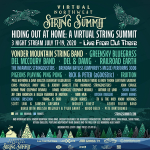 Northwest String Summit Announces Final Lineup for 'Hiding Out At Home: A Virtual Northwest String Summit'