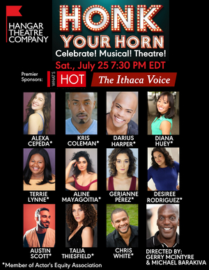 Hangar Theatre Presents Virtual Production of HONK YOUR HORN: CELEBRATE! MUSICAL! THEATRE!
