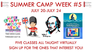 Tacoma Little Theatre Announces Virtual Summer Camp Classes