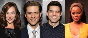Aaron Tveit, Jeremy Jordan, Laura Osnes, and Krystal Joy Brown Will Lead Hallmark Holiday Movies This Season