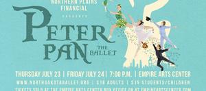 North Dakota Ballet Company Presents PETER PAN