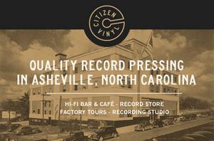 Citizen Vinyl Record Pressing Plant To Open In Asheville, NCThis September