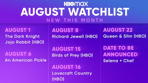 HBO Max Shares August 2020 Highlights