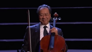 Yo-Yo Ma Performs Live in the Global Concert Hall
