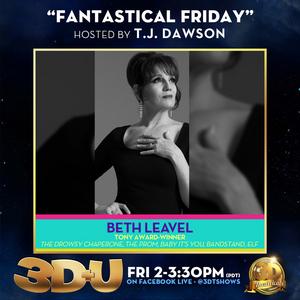 3-D Theatricals Announces Beth Leavel, Josh Strobl, Phoenix Best, and Dan Macke as This Week's 3D+U Guests