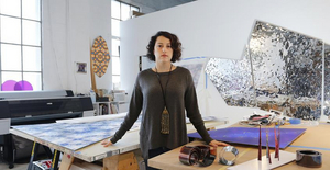 Sanaz Mazinani Presents Public Art Installation 'All that Melts: Notes From the Future-Past'