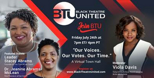 Tune in Tomorrow for Black Theatre United's Virtual Town Hall With Viola Davis and More