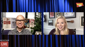 Megan Hilty Talks About Her Upcoming Concert With Seth Rudetsky, and More on Backstage LIVE With Richard Ridge