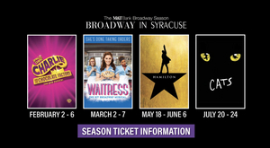 Broadway in Syracuse Announces 2021 Lineup - HAMILTON, CATS, WAITRESS, and CHARLIE AND THE CHOCOLATE FACTORY
