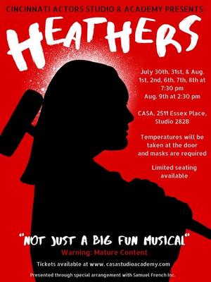 Cincinnati Actor's Studio & Academy Presents HEATHERS