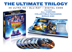 BACK TO THE FUTURE: THE ULTIMATE TRILOGY Heads To 4K Ultra HD, Blu-ray and DVD