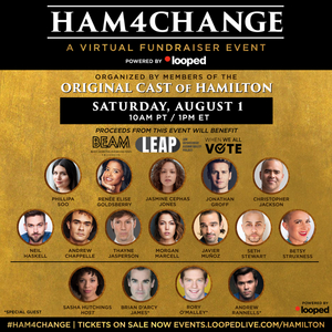 Renée Elise Goldsberry, Jonathan Groff, Christopher Jackson, Phillipa Soo and More To Take Part in HAM4CHANGE