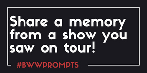 BWW Prompts: Share A Memory From A Show You Saw On Tour