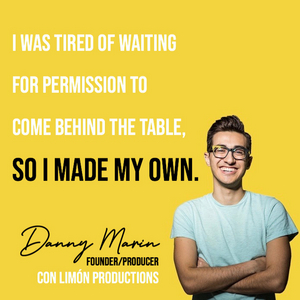 Danny Marin Launches Con Limón Productions