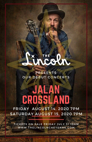 Lincoln Theater in Cheyenne Will Host its Debut Show, a Performance From Jalan Crossland