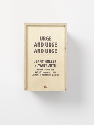 Jenny Holzer Launches URGE AND URGE AND URGE in Collaboration with the New York City AIDS Memorial